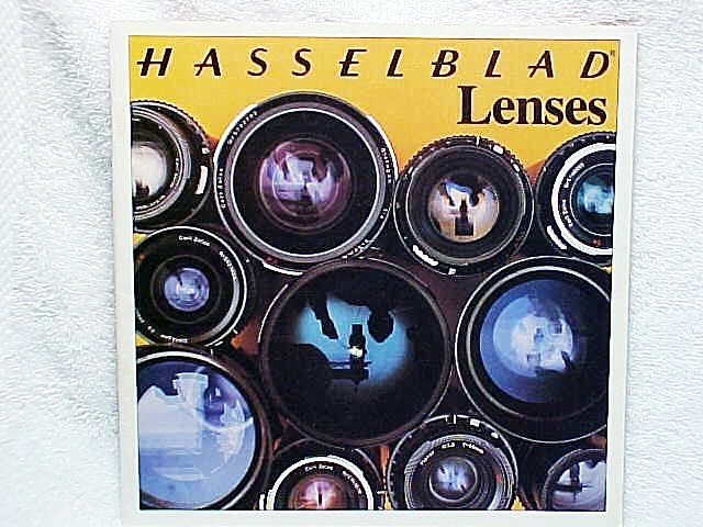 Hasselblad Lenses, 30 pgs, 1975 (xerox copy)