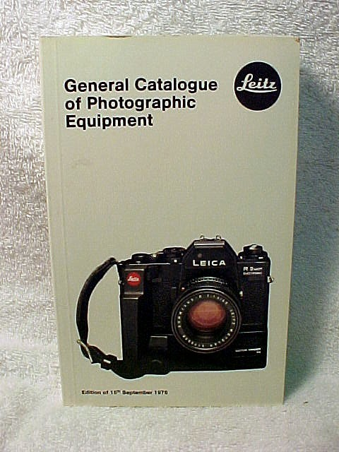 Leica General Catalogue of Photographic Equipment, 1978.