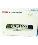 Minox C Instructions 33pgs (xerox) - £11.36 GBP
