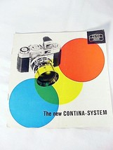 The New Contina-System 6pg 1956 (xerox copy) - $11.95