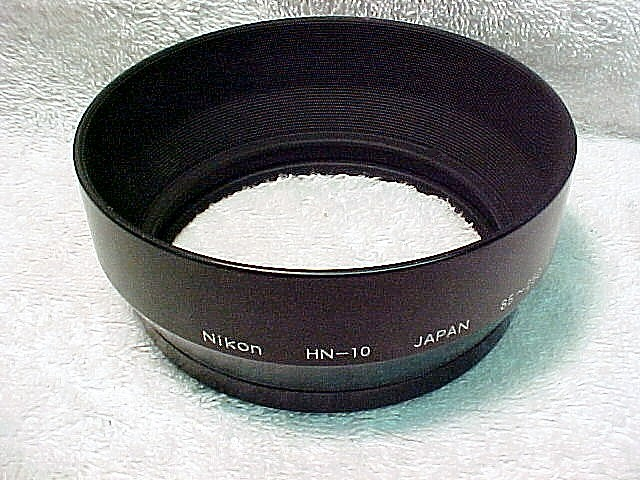 Nikon Hood HN-10 for 200-600 or 85-250mm Non-AI Nikon Zoom L