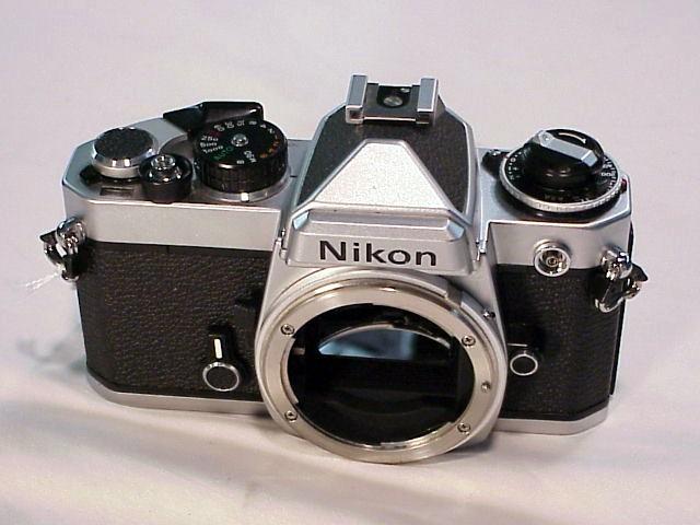 Nikon fe with grid screen