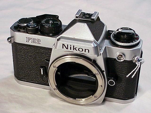 Nikon fe2 with grid scree