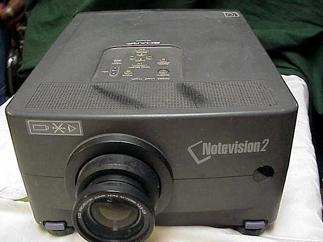 Note vision 2 digital projector with all the cable