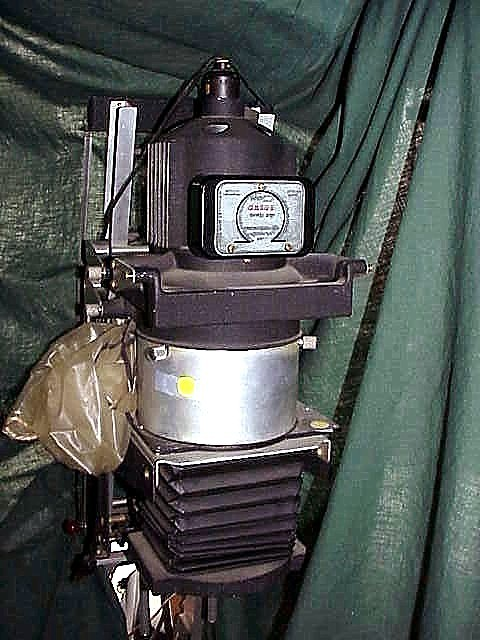 Omega D2 Enlarger with 35mm Condenser Lens & Neg carrier