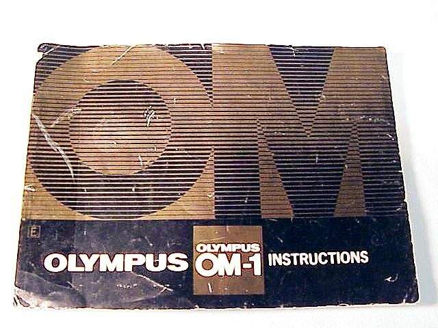 OM-1 Olympus Instruction Booklet, 52pgs