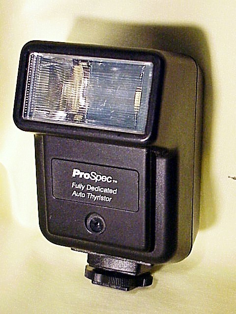 ProSpec Flash for Pentax P3 P30 or A3000 Cameras (No 2)