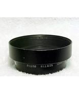 R Leica Hood 12564/  50mm f2  35mm f2.8 (No 139) - $95.00