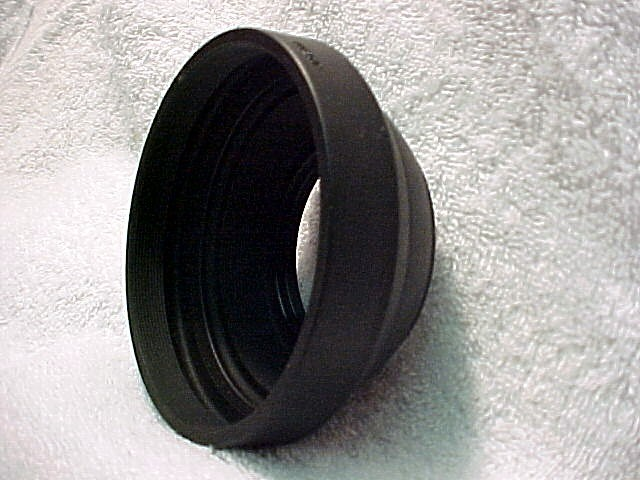 Rubber Hood (58mm) for Mamiya 645 J or 1000S bodies
