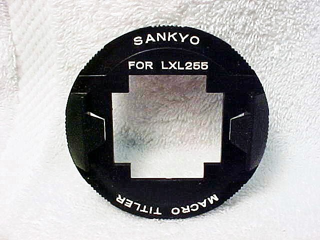 Sankyo Macro Titler Ring for Model LXL255 (No 10)