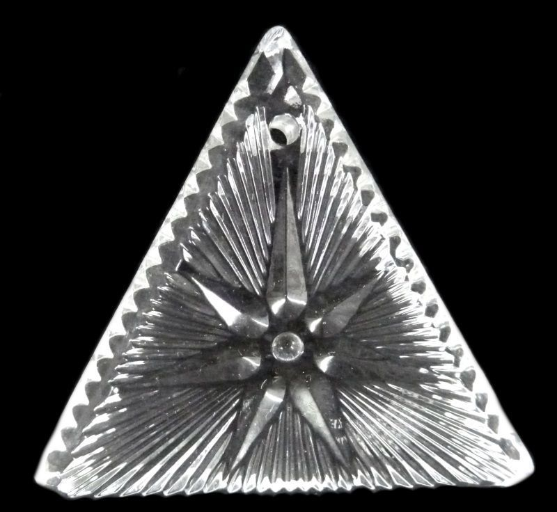Waterford Crystal Ornament 2000 Times Square Triangle Star of Hope Collectible