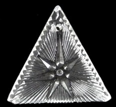 Waterford Crystal Ornament 2000 Times Square Triangle Star of Hope Collectible - $38.77