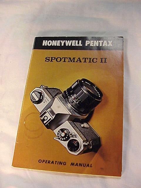 Spotmatic ii instructions