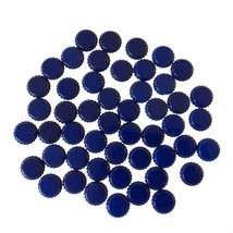 Paper Studio Spare Parts Glossy Navy Blue Bottle Caps - $18.00