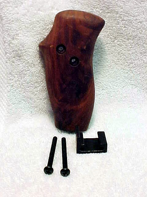 Walnut Grip for Stroboframe (with hardware) (No 23)