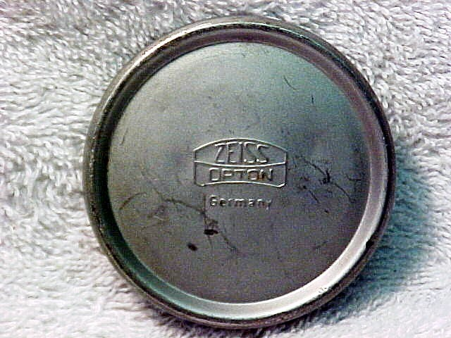 """Zeiss Opton Germany"" Cap for 21mm f4.5 Biogon for Contax II"