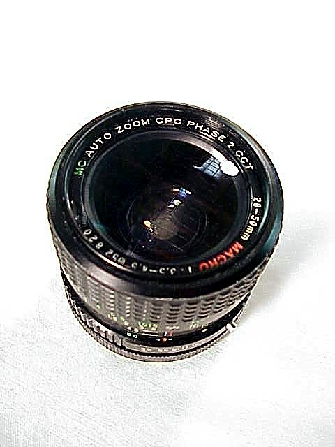 28-50mm f3.5-4.5 CPC Macro Zoom for Canon FD