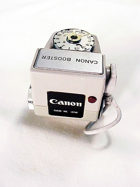 Canon Meter Booster for use with an FTB in low light