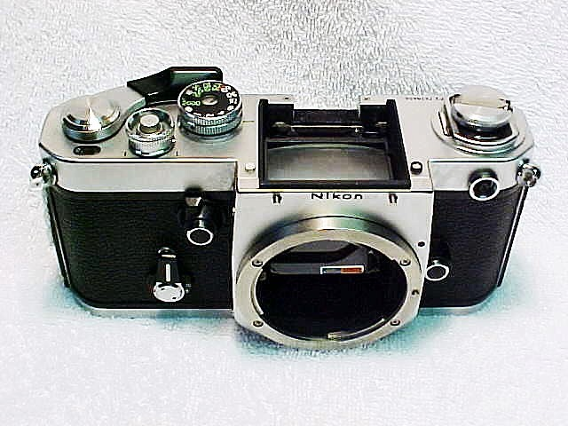 Nikon F2 Body with Technical Grid Screen