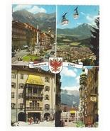 Austria Tirol Innsbruck Multiview Tyrol Vtg Postcard 4X6 - $4.99