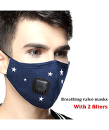 Anti Pollution Mask Air Filter Mask N95 Respirator Dust Mask PM2.5 5 Lay... - $9.69+