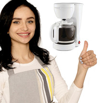 12-Cup Coffee Maker With removable Filter Basket - $29.95