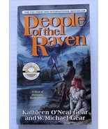 PEOPLE OF THE RAVEN North Americans Series Kathleen O'Neal/Michael Gear - $5.00