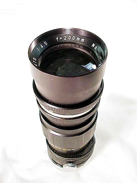 "200mm VEMAR Telephoto ""H"" Mount"