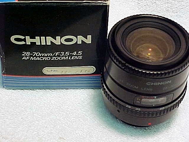 28-70mm f3.5-4.5 AF Macro Zoom for Chinon (New)