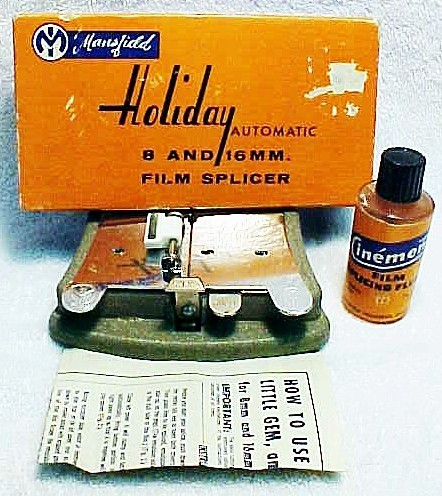 8/16mm Mansfield Holiday Cement Splicer (No 22)