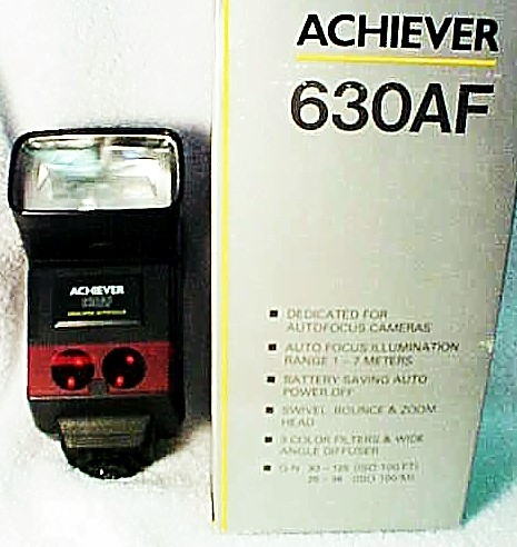 630AF Achiever Flash for Pentax PZ10 Cameras (new) (No 10)