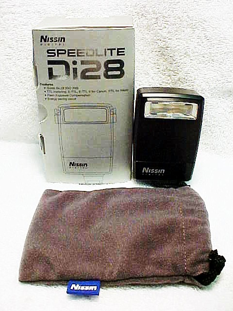 Di28 Nissin Speedlite for EOS Digital Cameras (new)