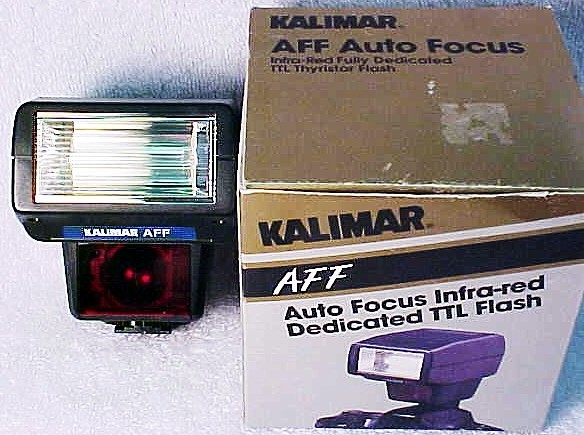 Kalimar AFF Auto Focus Flash for Nikon AF Cameras (new) (No