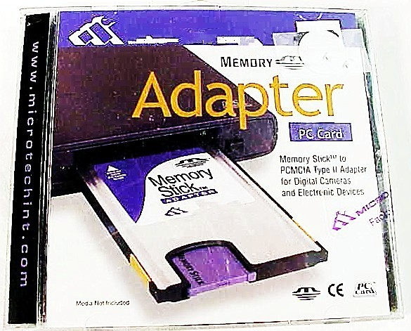 Memory Stick (Sony type) to PC adapter