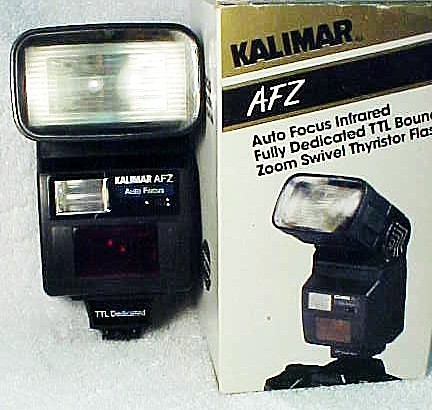 Sunpak 355AF Flash for Canon EOS (new) (No 9)