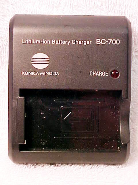 Minolta BC-700 Charger (No Cord) for Dimage XG