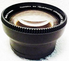 2X Tundra Telephoto Lens for 36mm 37mm 27mm (new) (No 13) - $46.50