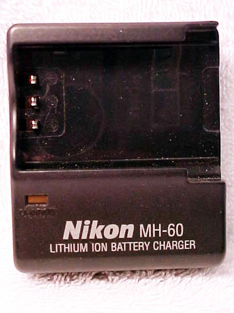 Nikon Brand MH-60 Charger (No Cord) for ENEL2 Batteries
