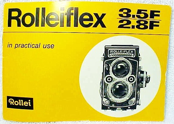 Rollei 2.8F 3.5F Instructions (Xerox)