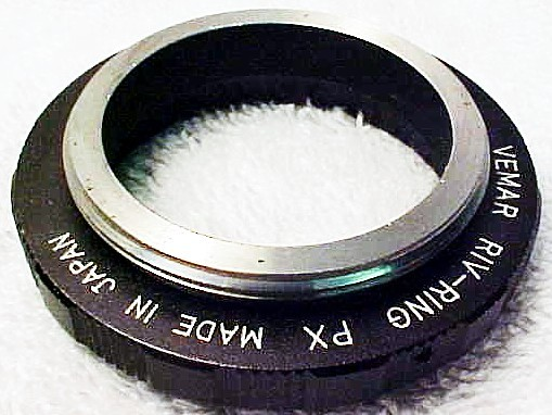 49mm (Vemar Brand) Reverse Adapter for Pentax Screw Mount
