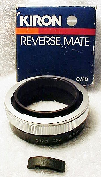 55mm (Kiron Brand) Reverse Adapter for Canon FD (new) (No 11