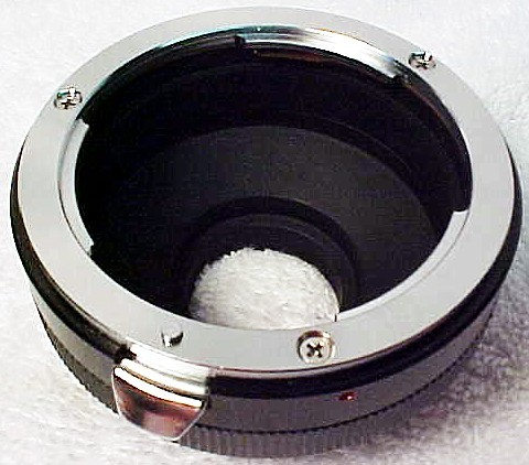 Nikon to C Mount Adapter (new)
