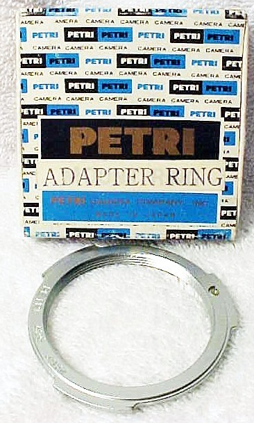 Petri to Pentax Screw Mount Lens Adapter (new)