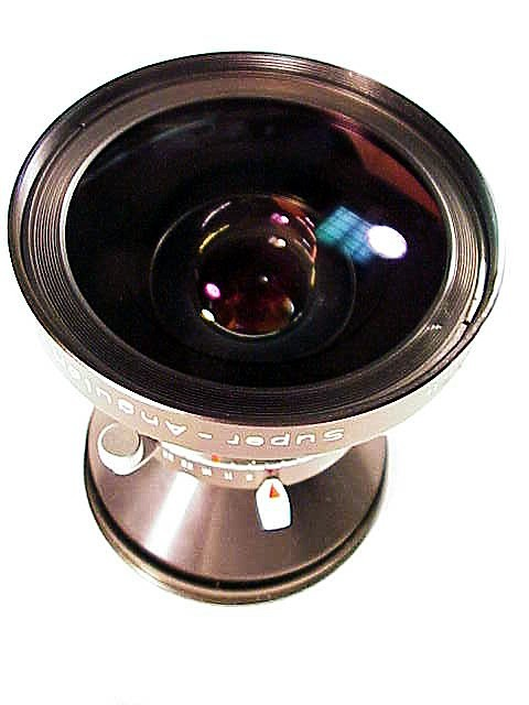 120mm f8 Muticoated Super Angulon in Copal No 0.