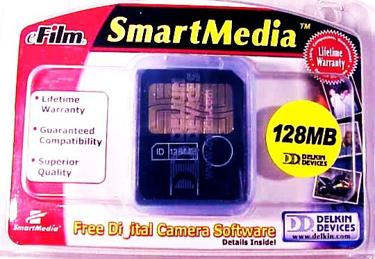 128MB Smart Meida Card Delkin Devices (New)