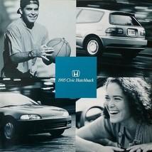 1995 Honda Civic Hatchback Brochure Catalog Us 95 Dx Vx Si - $8.00