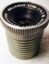 65mm f6.3 Wollensak Projection Anastigmat Lens (No 5) - $39.95