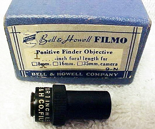 "1"" Finder for B&H Filmo 8mm (No 89)"