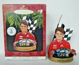 1997 Jeff Gordon NASCAR Hallmark Keepsake Ornament Stock Car Champions U17 - $14.99
