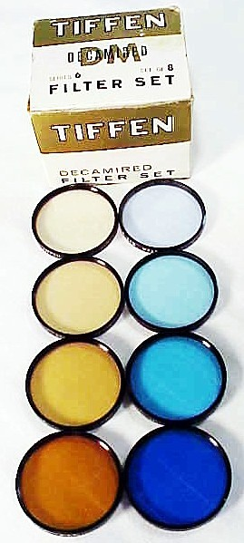 Series 6 Tiffen Decamired Filter Set (new)